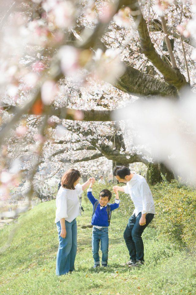 出張撮影の家族写真の一例
